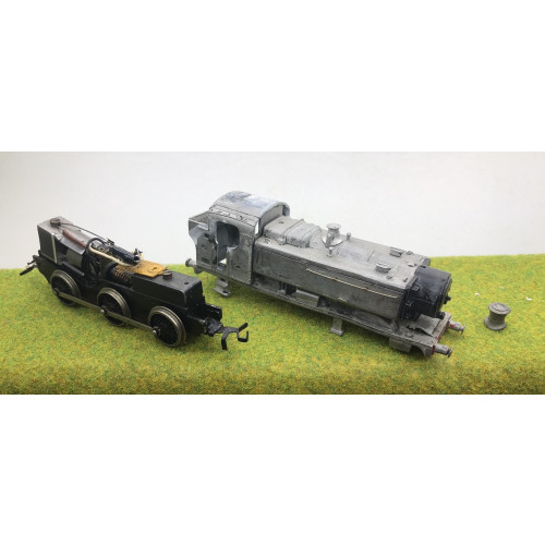 Will Finecast Kit BR GWR 94xx 0-6-0PT Tank Locomotive with Romford Wheels