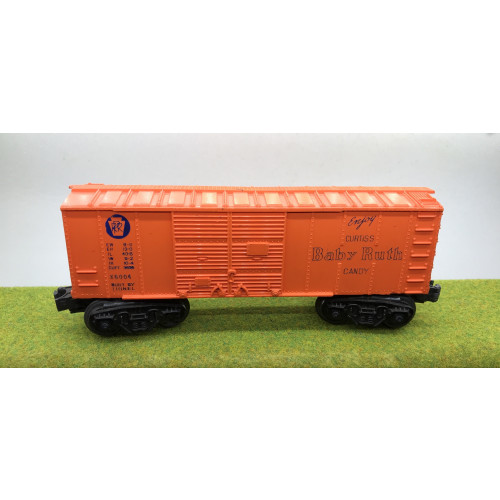 Lionel Curtiss Baby Ruth Candy Box Car No.X-6004 in Orange