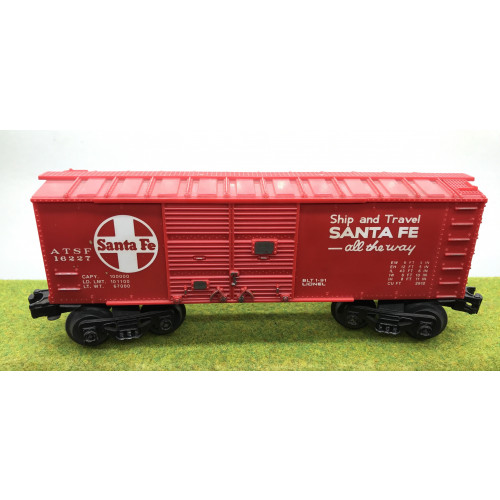 Lionel Santa Fe ATSF Box Car No.16227 in Red