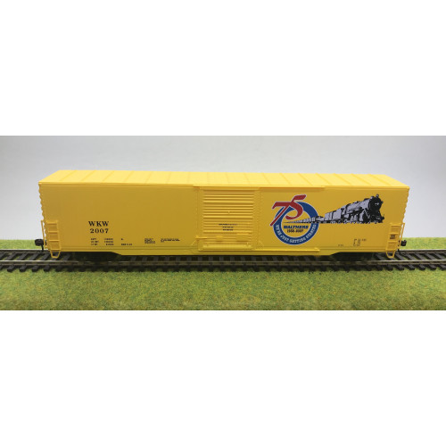 Walthers 932-95000 Gold Line 60' Auto Parts Box Car Walthers 2007 in Yellow