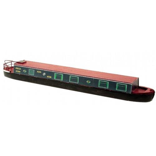 Craftline Models SIL56 00 Gauge Silsden Canal Narrow Boat 225 x 28mm