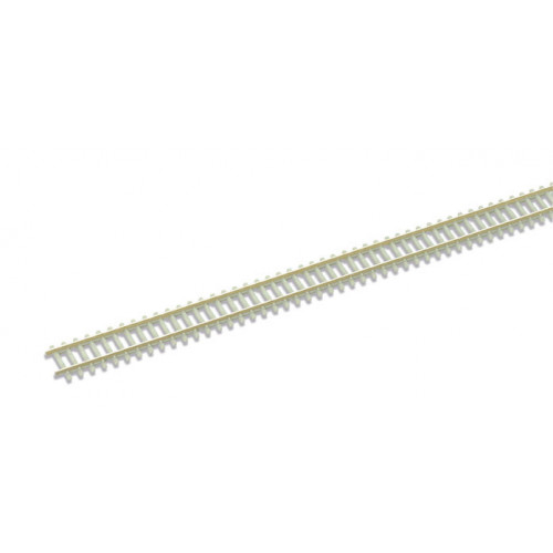 SL-302F Concrete sleeper type, nickel silver rail 914mm (36in) length
