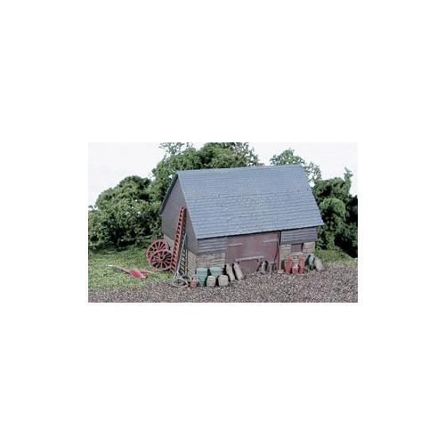 SS30 Wills Kits Barn, Stone & Timber Built Type