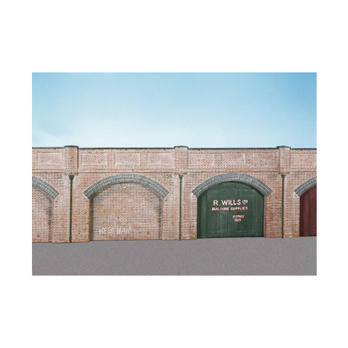 SS52 Wills Kits Brick Retaining Arches (4)
