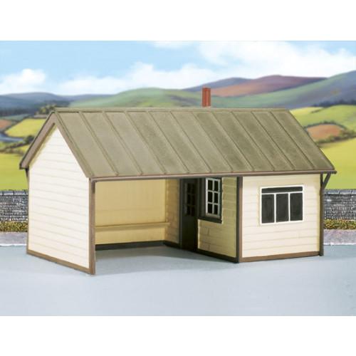 SS60 Wills Kits Station Platform Shelter, Timber
