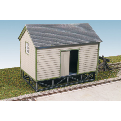 SS63 Wills Kits Goods Yard Store, Timber Built Type