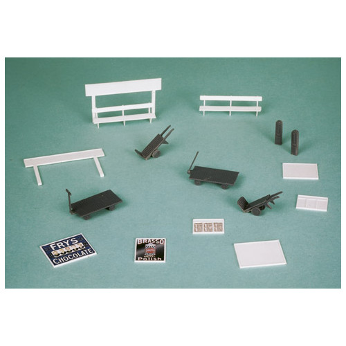 SS68 Wills Kits Platform Accesories, Nameboards, Trolleys etc