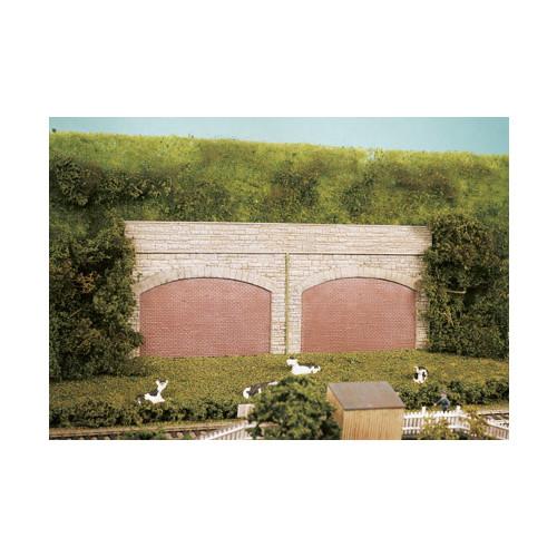 SS69 Wills Kits Stone Type Retaining Arches (4)