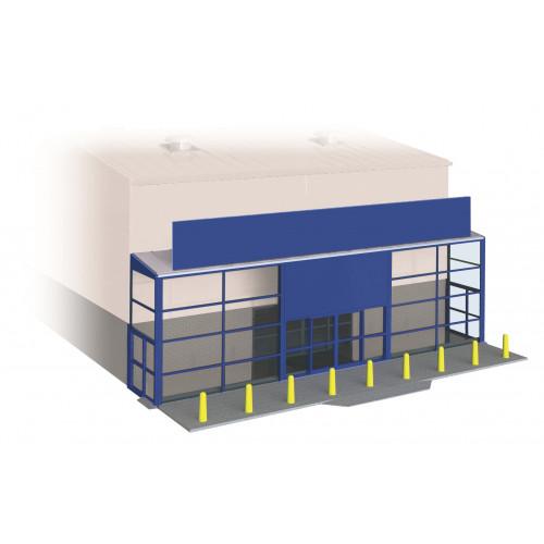 SSM310 Wills Kits Supermarket Frontage Kit
