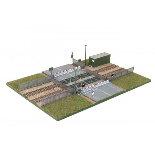 SSM318 Wills Kits Modern Level Crossing