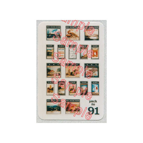 TSN91 Tiny Signs N Gauge GWR Travel Posters