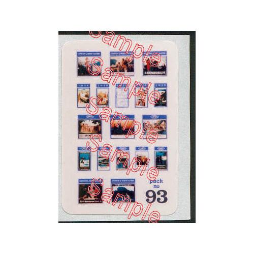 TSN93 Tiny Signs N Gauge LNER Travel Posters