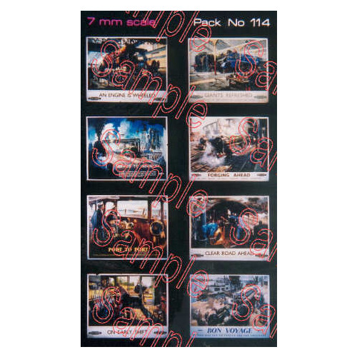 TSO114 Tiny Signs O Gauge BR Special Issue Travel Posters Terence Cuneo