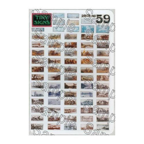 TSO59 Tiny Signs O Gauge Carriage Prints