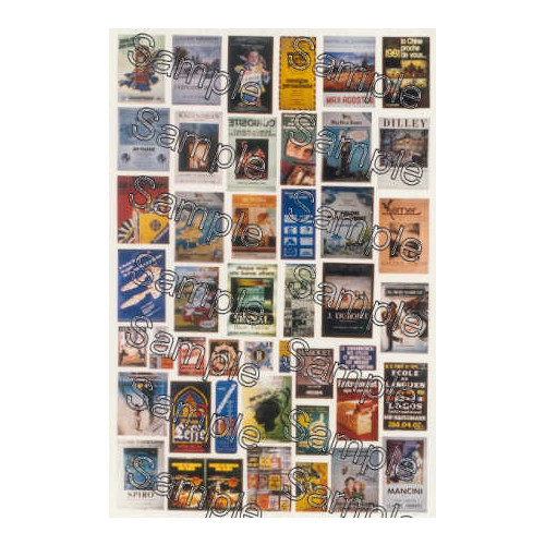 TSOO131 Tiny Signs 00 Gauge French Travel Posters One