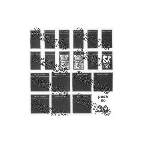 TSOO30 Tiny Signs 00 Gauge BR Poster Boards