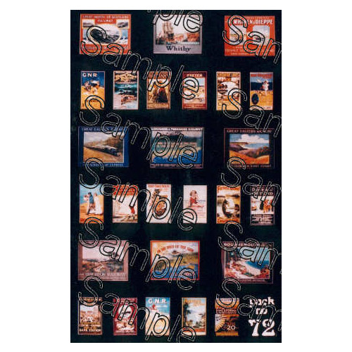 TSOO72 Tiny Signs 00 Gauge Pre-Grouping Travel Posters