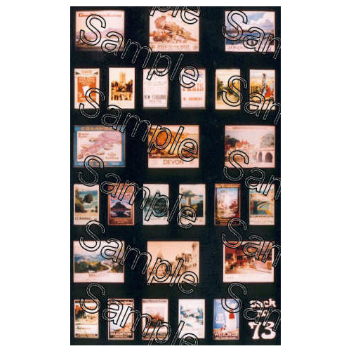 TSOO73 Tiny Signs 00 Gauge GWR Travel Posters