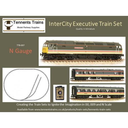 TTB-007 N Gauge Inter-City Swallow Train Set