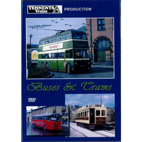 Buses & Trams Front Cover