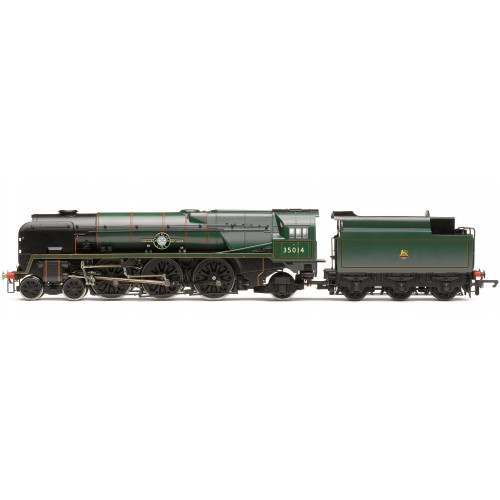 R3566 BR 4-6-2 'Nederland Line' Merchant Navy Class (Re-built) - Early BR