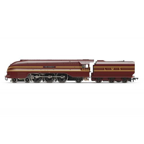 R3639 Princess Coronation Class 4-6-2 Locomotive No.6244 King George VI in LMS Crimson Lake Livery