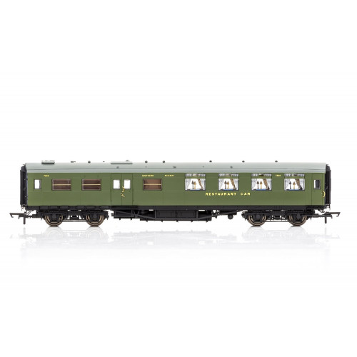 R4816 Maunsell Kitchen / Dining First Class Coach No.7869 in SR Olive Green