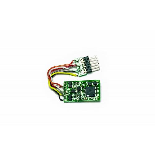 R7150 Standard 6-Pin Decoder with NEM 651, 6 Pin Plug