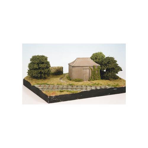 SS35 Pagoda Building Corrugated Iron Type Hut