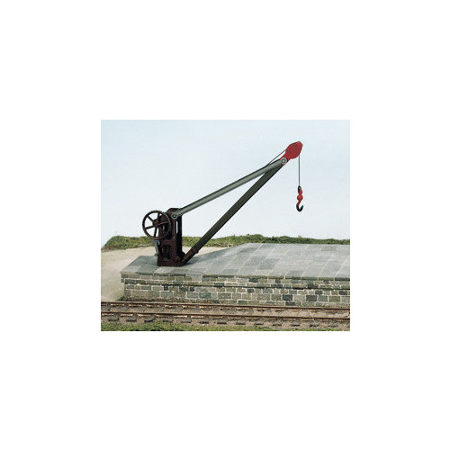 SS51 Goods Yard Crane with Fixed Timber Jib