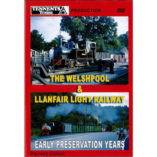 The Welshpool & Llanfair Light Railway Front Cover